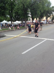 2015 Fire Hose Cart Races | downtown Prescott