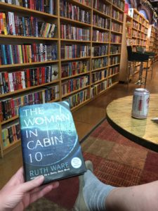 The Woman in Cabin Ten | #bookclub