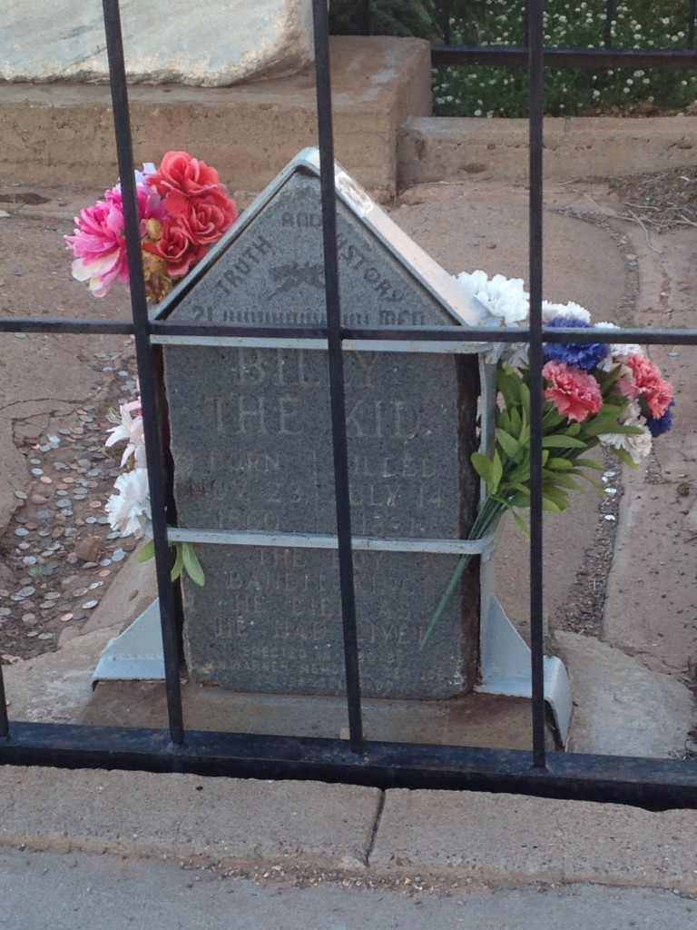 Billy the Kid grave