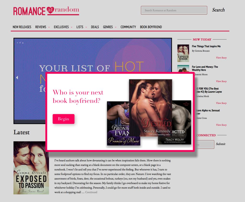 BookBoyfriend | Romance at Random
