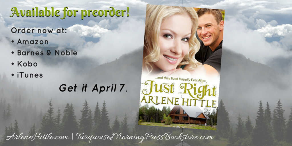 Preorder Just Right | Arlene Hittle