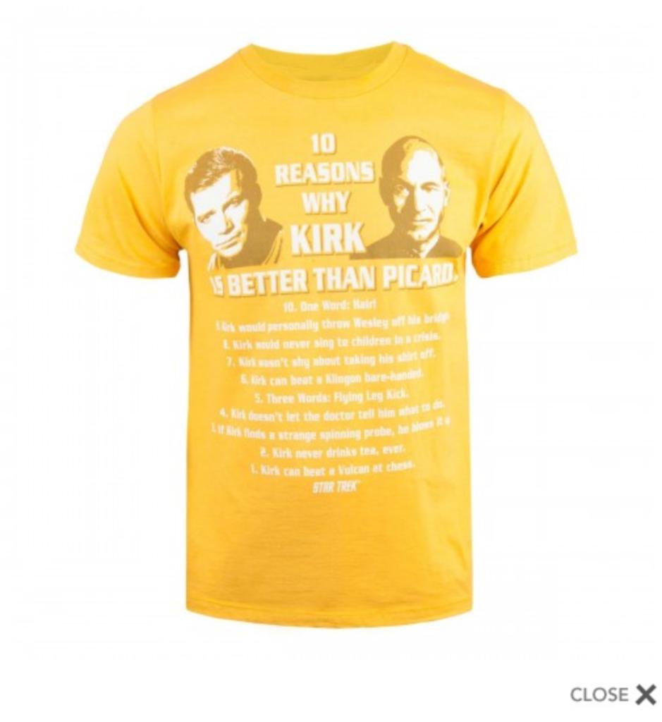 Kirk or Picard?