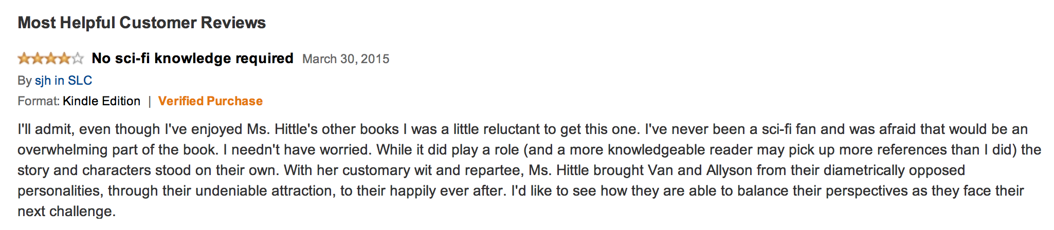 Amazon review of Breaking All the Rules | Arlene Hittle