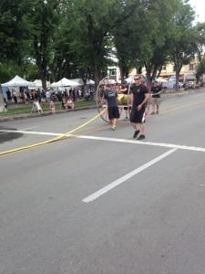 2015 Fire Hose Cart Races | downtown Prescott