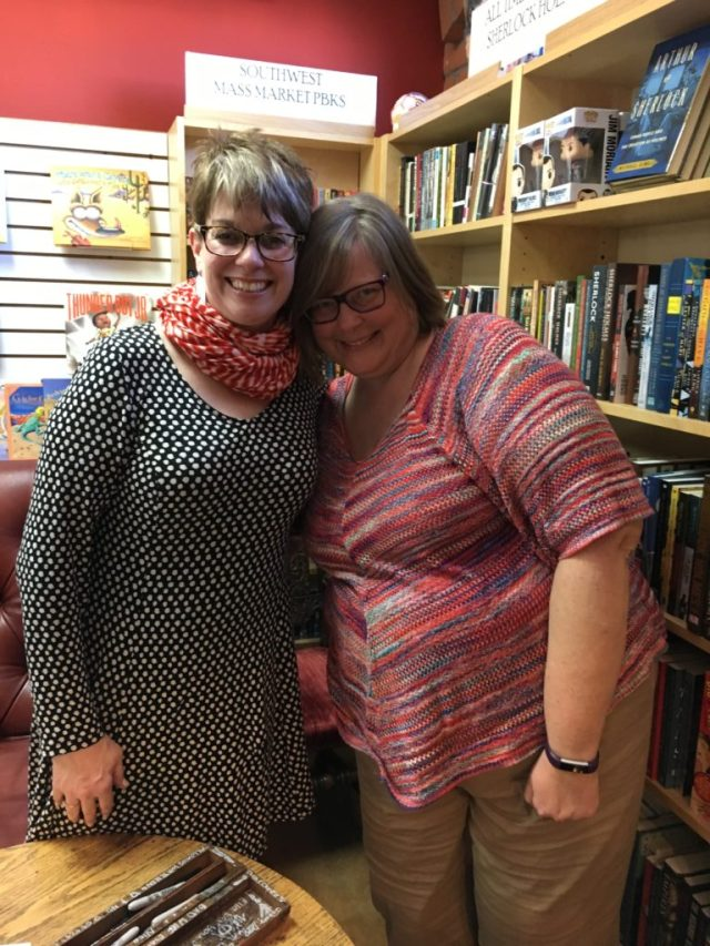 Here I am with Kristan Higgins at The Poisoned Pen in Scottsdale, Arizona, Feb. 8, 2017.